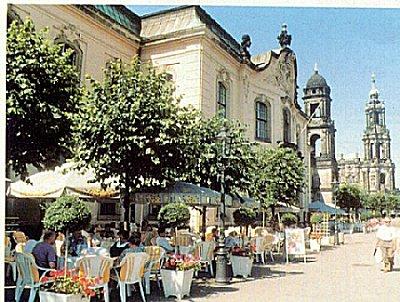 Sachsen Entdecken Dresden Brulsche Terrasse