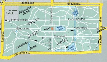 Dresden Großer Garten